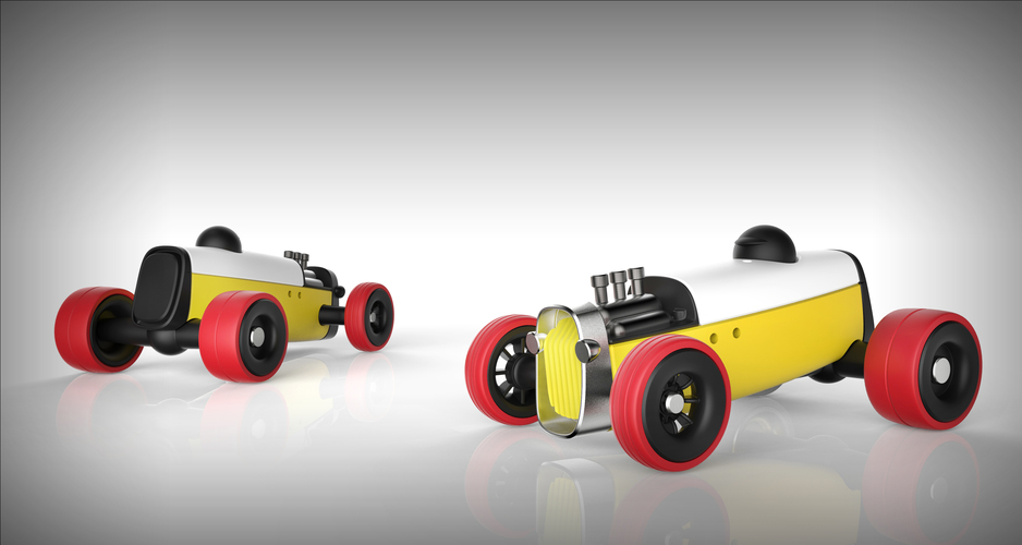 Modular HOT ROD designer toy 3D Print 135526