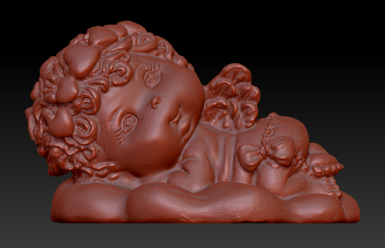 Angel on the Cloud 3D Print 135567