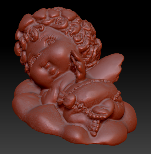 Angel on the Cloud 3D Print 135568