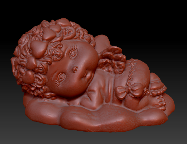 Angel on the Cloud 3D Print 135570