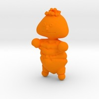 Small ernie, bert and cookie monster from sesame street 3D Printing 13560