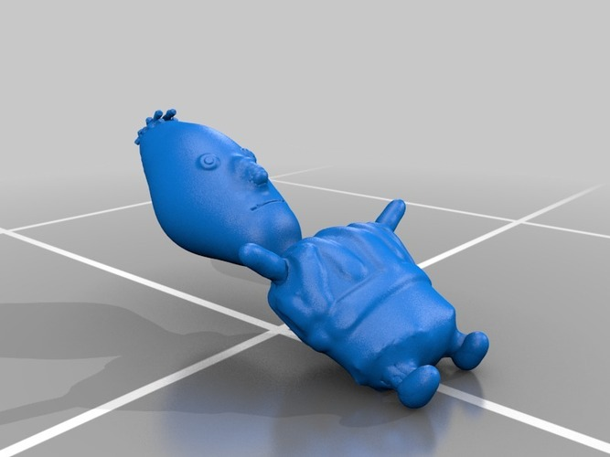 ernie, bert and cookie monster from sesame street 3D Print 13562