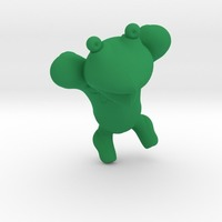 Small Kermit the frog 2 3D Printing 13569