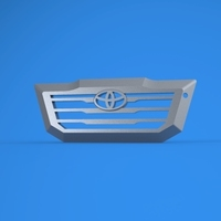 Small toyota hilux keychain 3D Printing 135694