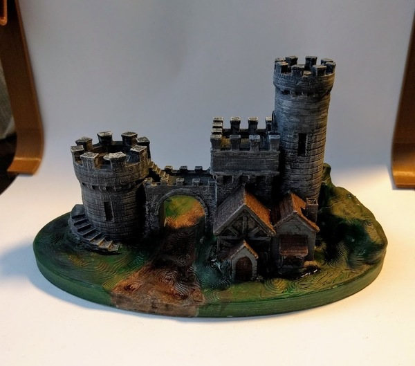 Medium Castle Gate 2 3D Printing 135766