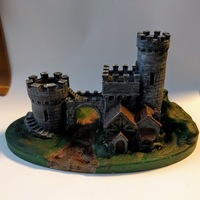 Small Castle Gate 2 3D Printing 135766