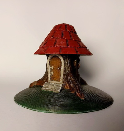 Tree stump house 3D Print 135768