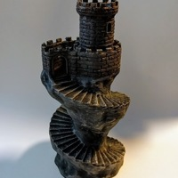 Small Spiral tower 3D Printing 135769
