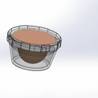 Small Coffee Pod Container 3D Printing 135804