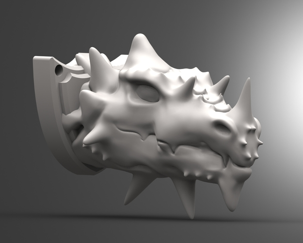 Dragon head 3D Print 135829