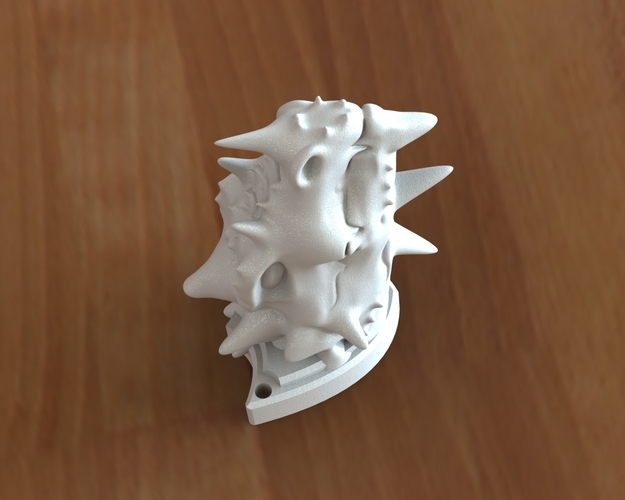 Dragon head 3D Print 135831
