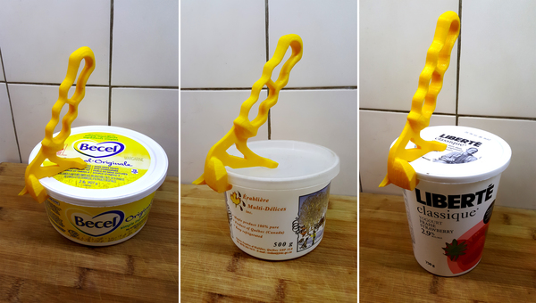 Medium Handy Tool to open plastic containers - Contest 3D Printing 135837