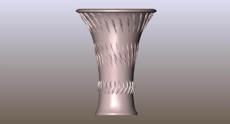 3d Printed Vase 240 By Wperko Pinshape