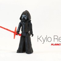 Small Kylo Ren 3D Printing 135866
