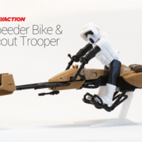 Small Star Wars Speeder & Scout Trooper 3D Printing 135873