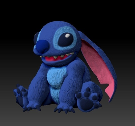Stitch Collectable from Disney's Lilo and Stitch  3D Print 135877