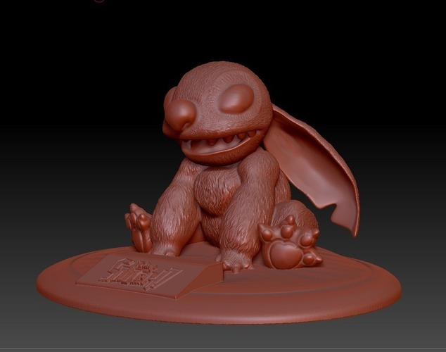 Stitch Collectable from Disney's Lilo and Stitch  3D Print 135879