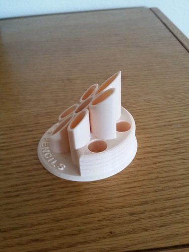 Pen and Pencil Holder 3D Print 135886