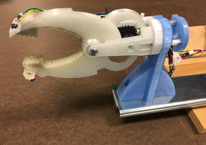 Gripper with Larger Flat Ends 3D Print 135898