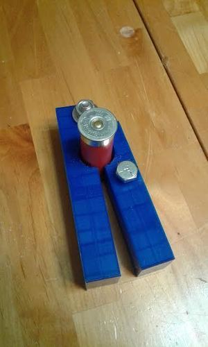 Shotgun shell opener / de-capper / reloader / wax slug modifier 3D Print 135906