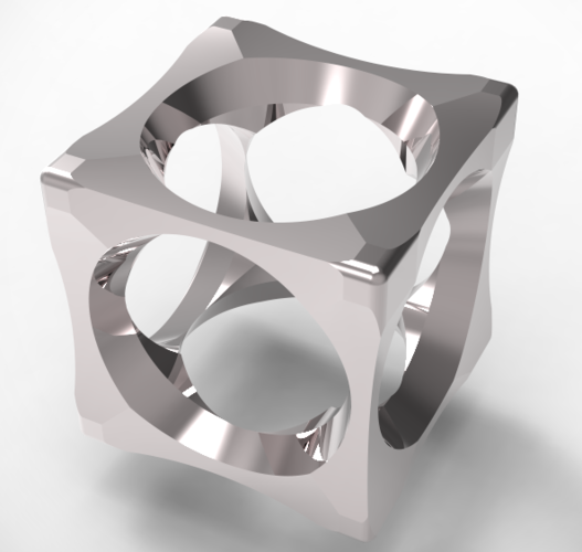 cubic mensring 3 in 1 3D Print 135957