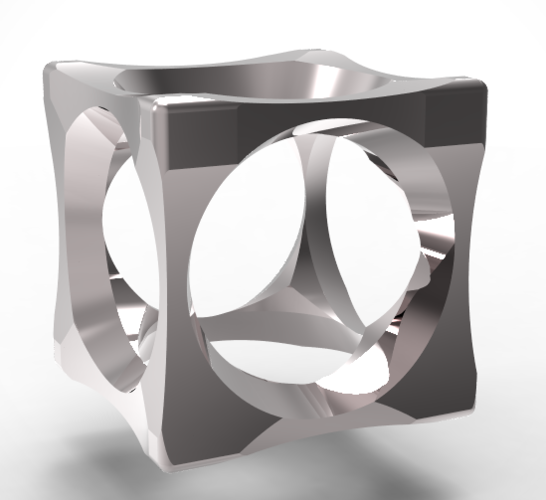 cubic mensring 3 in 1 3D Print 135958