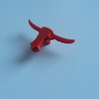 Small bull cabinet handle 3D Printing 135962