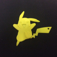Small Pikachu Key Chain 3D Printing 135972