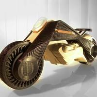 Small BMW CONCEPT MOTORRAD 3D Printing 136008