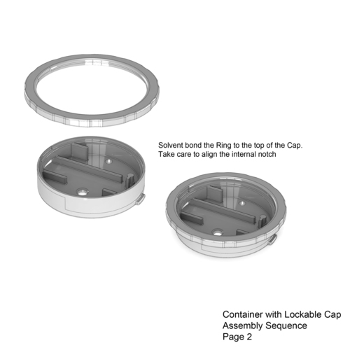 Lockable Container 3D Print 136015