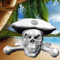 Small Pirates of the Caribbean - Skull 3D Printing 136035