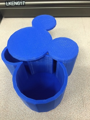 Mickey Mouse Box 3D Print 136038