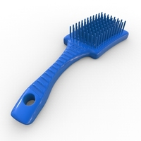 Small HairBrush 3D Printing 136068