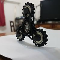 Small Gear Spinner 3D Printing 136075