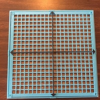 Small Braille Quadrant Graph Math Board 3D Printing 136141