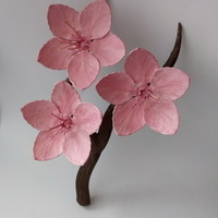 Small Cherry blossom branch 3D Printing 136163