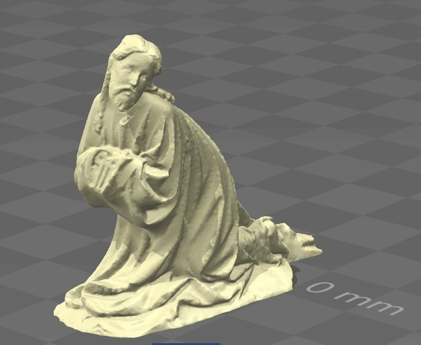 Christ on the Mount of Olives 3D Print 136199