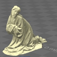 Small Christ on the Mount of Olives 3D Printing 136199