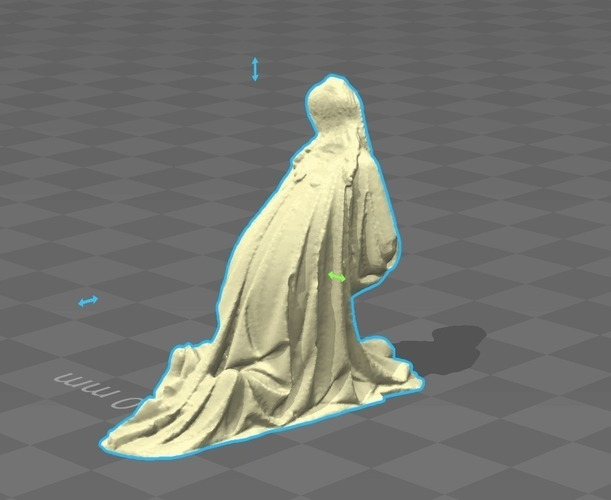 Christ on the Mount of Olives 3D Print 136200