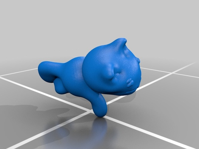 cute kitty 3D Print 13623