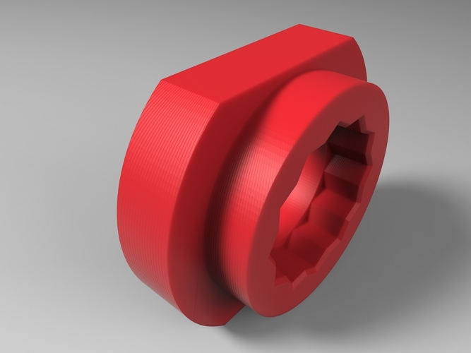 Tool for look pedals axle removal 3D Print 136249