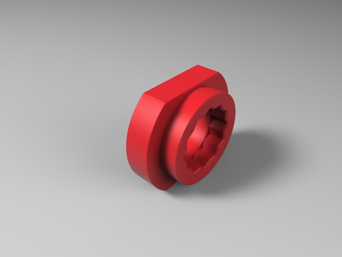 Tool for look pedals axle removal 3D Print 136250
