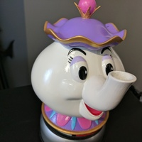 Small Mrs Potts Container! [Beauty and the Beast] 3D Printing 136258