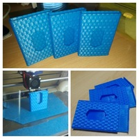 Small Business card holder 3D Printing 136273