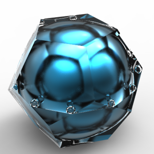 dodecahedron luxury ringbox 3D Print 136278