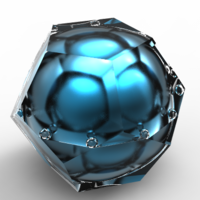 Small dodecahedron luxury ringbox 3D Printing 136278