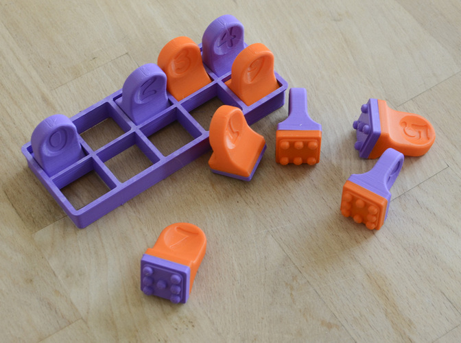 Domino Cookie Cutter 2 3D Print 136292