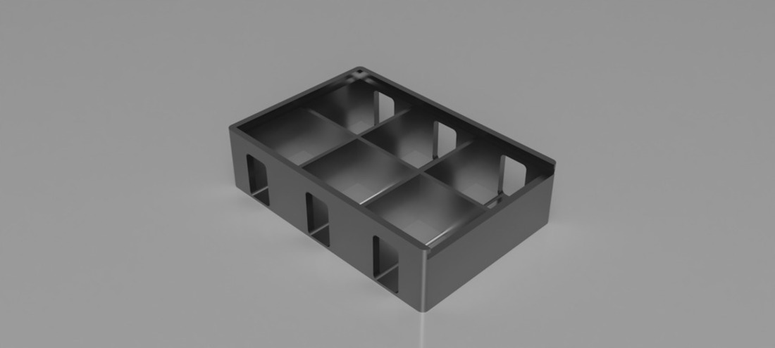 Cards Against Humanity Storage Box (For Free Version) 3D Print 136319