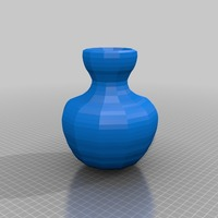 Small vase 3D Printing 13635