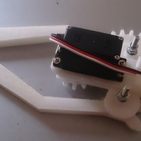 Small  Gripper robot arm 3D Printing 136375